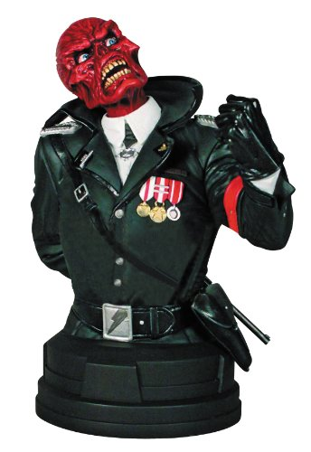 Gentle Giant Studios Red Skull Mini Bust (Red Skull Figure compare prices)
