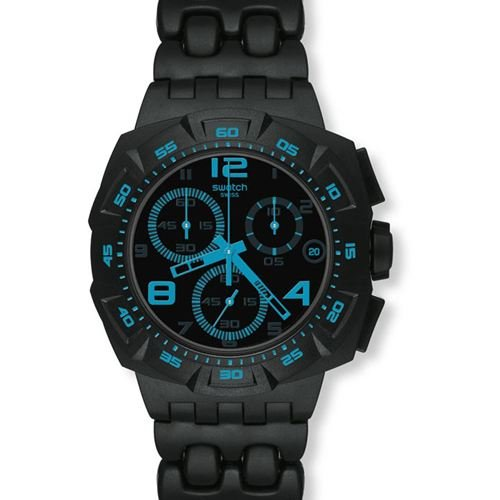 Swatch Men's Chrono Plastic Watch SUIB409