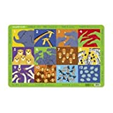 Crocodile Creek Placemat - Jungle 123 ~ Crocodile Creek