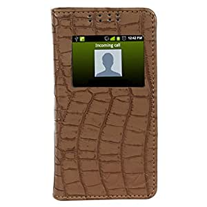 D.rD Flip Cover with screen Display Cut Outs designed for Asus Zenfone C ZC451CG