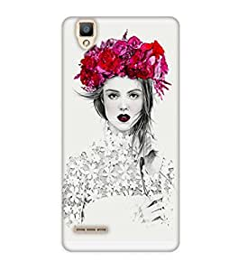 Happoz Oppo F1 Cases Back Cover Mobile Pouches Shell Hard Plastic Graphic Armour Premium Printed Designer Cartoon Girl 3D Funky Fancy Slim Graffiti Imported Cute Colurful Stylish Boys D178