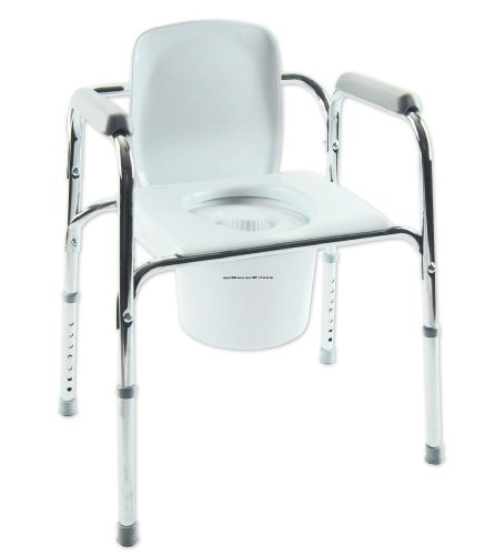All-In-One Aluminum Commode Case of 4 SizeC (Drop-Ship only) INVACARE CORPORATION INV96504 (Case)
