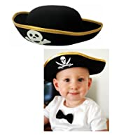 Kid's Felt Pirate Party Hat by Rhode Island Novelty