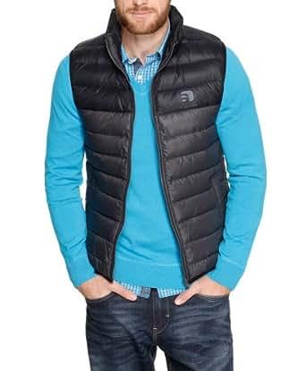 S.Oliver - Veste Sans Manche - Sans Manche Homme - Gris - Grau (Dark Metal) - FR : X-Large (Taille Fabricant : XL) (Brand size : XL)