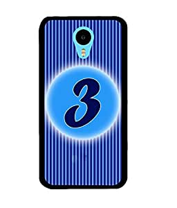 Fuson 2D Printed Numerology Designer back case cover for Meizu M1 Note - D4220