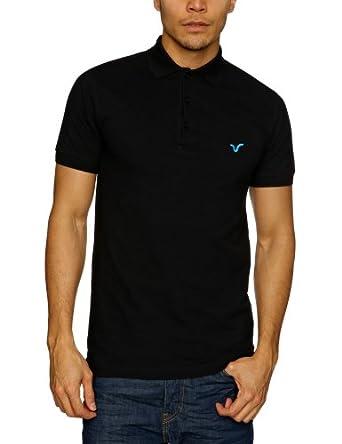 Voi Redford Con Polo Men's T-Shirt Black Small