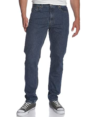 Levi's Men's 512 Slim Fit Jean, Dark Stonewash, 34x34
