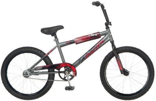 Pacific Boy's Flex 20-Inch BMX Bicycle, Grey