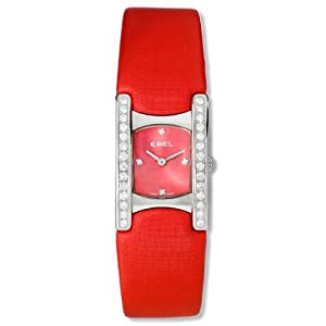 Ebel Women's 9057A28-861035317 Beluga Manchette Diamond Watch