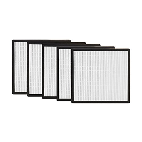 Alen (BF35-5) HEPA-Pure Replacement Filter for BreatheSmart Air Purifier, 5-Pack