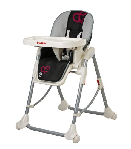 Banquet High Chair Color: Red front-903435