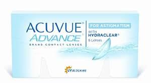 Acuvue Advance for Astigmatism 2-Wochenlinsen weich, 6 Stück / BC 8.6 mm / DIA 14.5 / CYL -1.25 / Achse 160 / -0.25 Dioptrien