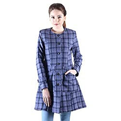 Owncraft check coat for women