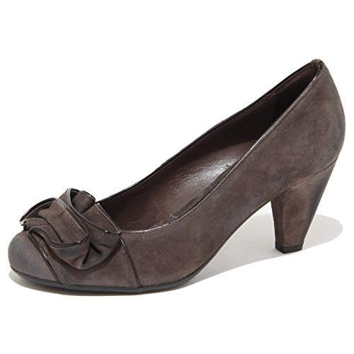 8751N decollete JANET & JANET tortora scarpe donna shoes women [40]