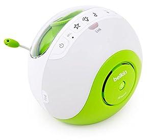 Belkin F7C036CB Pacifier Dect-Babyphone mit Lichtprojektor (300m Reichweite)