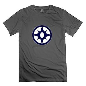 Geek Sheldon Cooper Violet Lantern Corps Symbol Geek T-Shirt For Men Short Sleeve