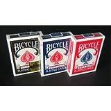 【トランプ】BICYCLE(バイスクル) ライダーバック ポーカーサイズ 【ブラック】単品 ホビー [並行輸入品]