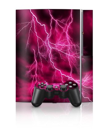 Playstation 3 Skins and Matching (Ps3) Controller Skin Apocalypse Pink