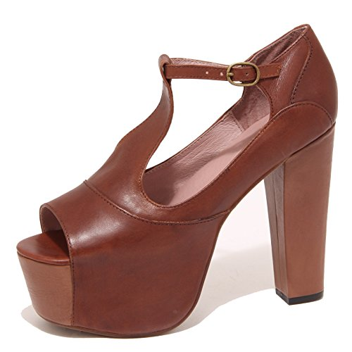 6802P sandalo JEFFREY CAMPBELL FOXY-WOOD scarpa donna shoe woman [39]