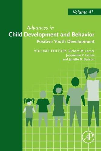 Advances in Child Development and Behavior: Positive Youth Development (Volume 41) (Positive Youth Development Vol 41 compare prices)