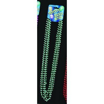 Festive Metallic Turquoise Beads