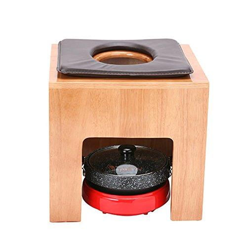 韓方座浴器セット(イス、クッション、クッションカバー、鍋、よもぎ、袖ありマント)