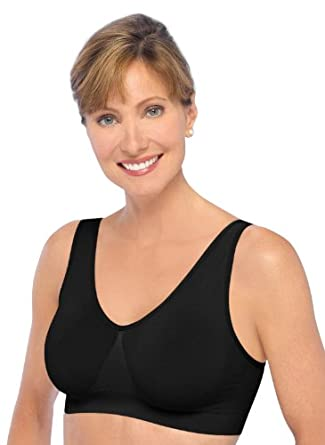 Ahh Bra By Rhonda Shear- Black- medium (8-10/36-37)