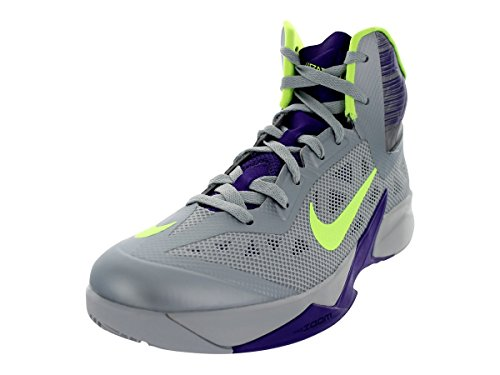 Zoom Hyperfuse 2013 Nero / Silver / mtllc unvrsty Scarpe Rd pallacanestro 10.5 Us