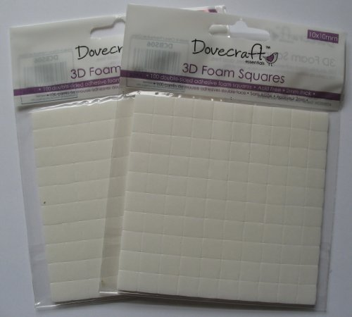 dovecraft-2-x-packs-3d-foam-pads-large-sticky-double-sided-for-cardmaking-and-decoupage