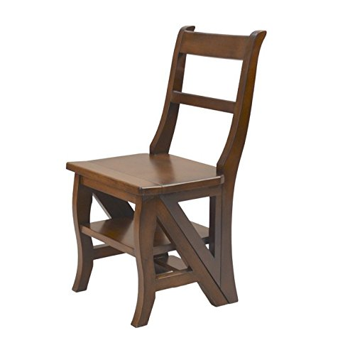 Carolina Cottage Folding Library Ladder Chair