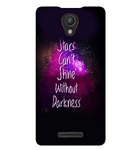 PrintVisa Quotes & Messages Stars 3D Hard Polycarbonate Designer Back Case Cover for Xiaomi Redmi 3S