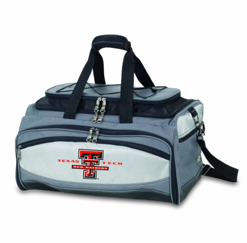 Ncaa Texas Tech Red Raiders Buccaneer Tailgating Cooler With Grill