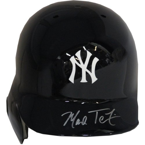 Mark Teixeira Signed New York Yankees Batting Helmet (Mlb Auth) (Right Ear Flap) front-1025811