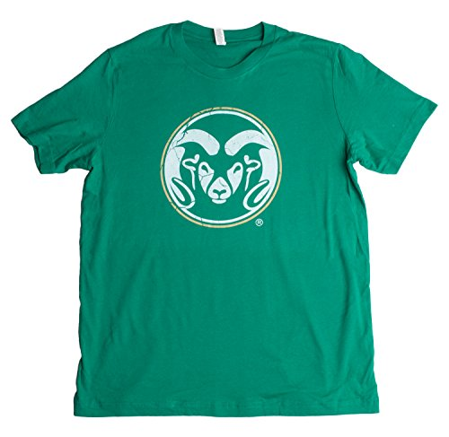 Colorado State University | CSU Rams Vintage Style Unisex T-shirt -Adult,S