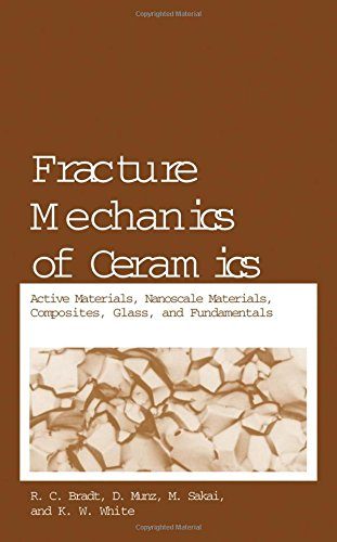 Fracture Mechanics of Ceramics: Active Materials, Nanoscale Materials, Composites, Glass, and Fundamentals