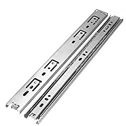 ELEGANT 18 INCHES STAINLESS STEEL RUST FREE TELESCOPIC CHANNEL - set of 8 pairs (16 channels )