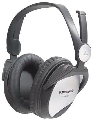 Panasonic RPHC150 Noise Cancelling Headphones Black