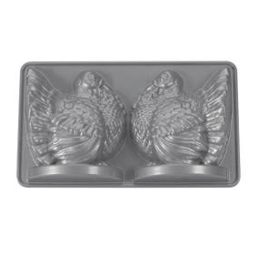 Nordic Ware Platinum Collection 3D Turkey Cake Pan