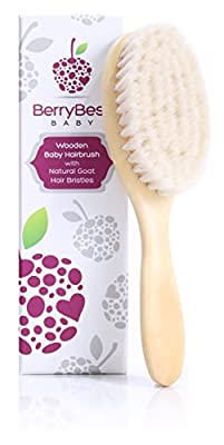BerryBest Baby Hairbrush - Natural, Newborn - Berry Burst