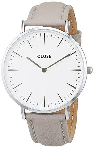 Cluse-Damen-Armbanduhr-Analog-Quarz-Leder-CL18215