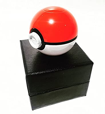 Pokemon Grinder - #1 Official Pokémon Weed Grinder, Spice Grinder, Tobacco Grinder, Pokeball Grinder, Herb Grinder & Food Grinder, Pokemon Grinder With Catcher - 420 Dope Weed Grinder