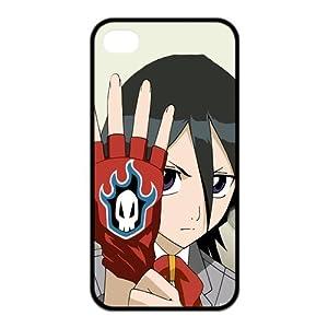 Bleach Kuchiki Rukia Glove Cool Unique Apple Iphone 4 4S Durable Hard Plastic Case Cover CustomDIY