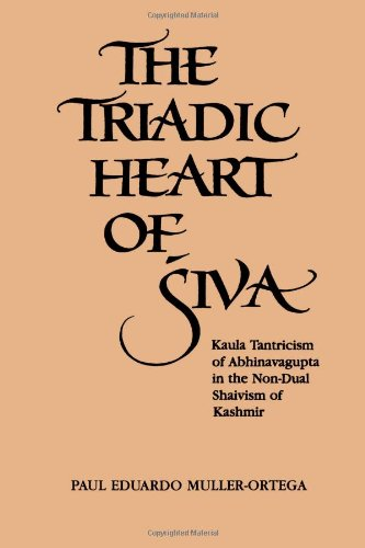 The Triadic Heart Of Siva: Kaula Tantricism Of Abhinavagupta In The Non-Dual Shaivism Of Kashmir (Suny Series, Shaiva Traditions Of Kashmir) front-727704