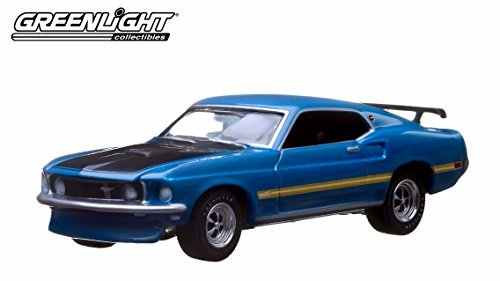 1969 FORD MUSTANG FASTBACK * Greenlight 10th Anniversary * Greenlight Collectibles 2014 Limited Edition 1:64 Scale Die-Cast Vehicle