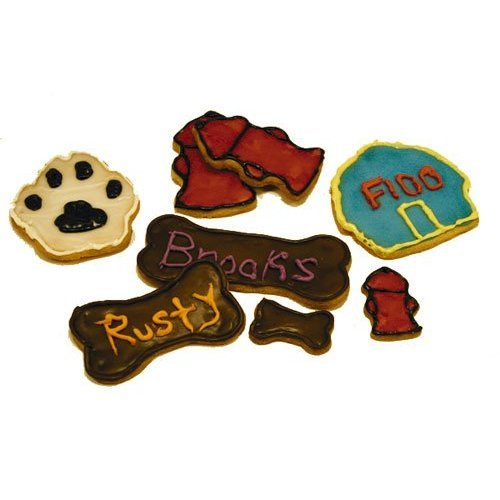 R & M Industries 1947 Dog Bone Cookie Cutters, Set of 7