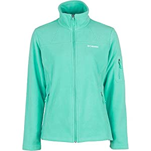 Columbia Women's Fast Trek II Full Zip Fleece Jacket, Oceanic, Small