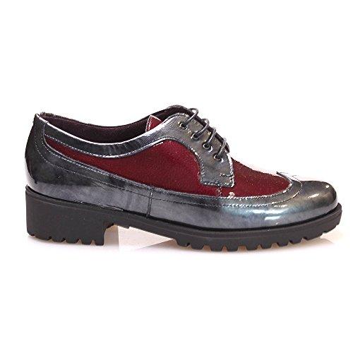 Pitillos Donna scarpe Derby grigio Size: 38