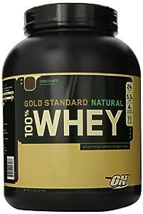 Optimum Nutrition - 100% Whey Gold Chocolate, 5 lb powder