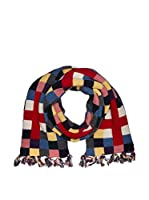 Hackett London Bufanda Lana Multi Block (Multicolor)