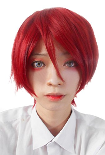 Nouqi® Anime Free! Mnes Handsome Short Synthetic Cosplay Wigs